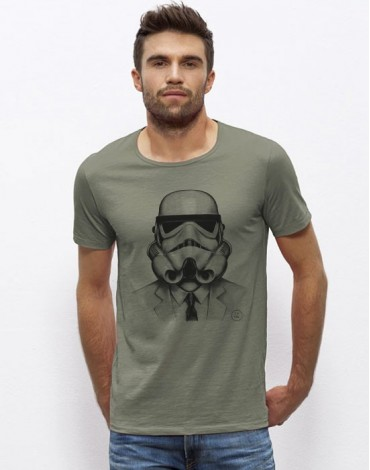T-Shirt Col Large The Stormtrooper