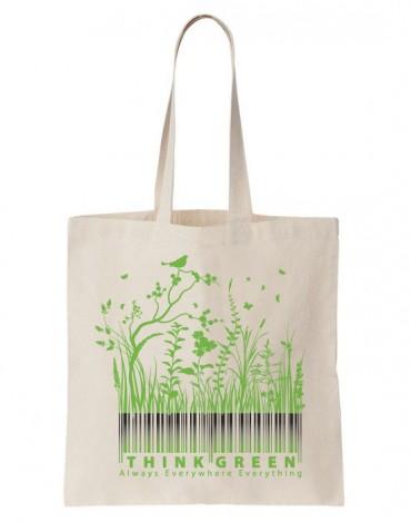 Tote Bag Think Green